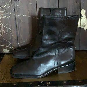 Loft black booties